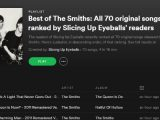 Playlist: All 70 of The Smiths' original songs as ranked by Slicing Up Eyeballs readers