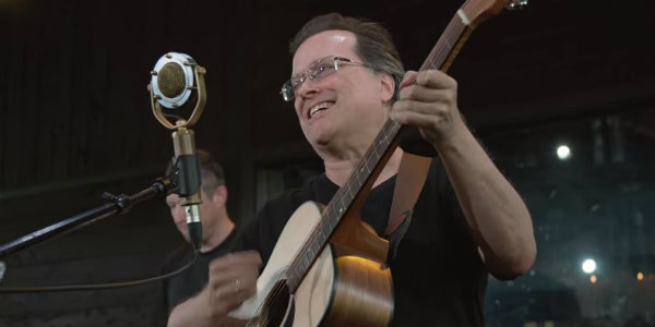 Watch: Violent Femmes make 'American Music' with BBQ grill in KEXP live set