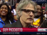 Hoop dreams: Guy Picciotto of Fugazi and Rites of Spring makes NBA jumbotron cameo