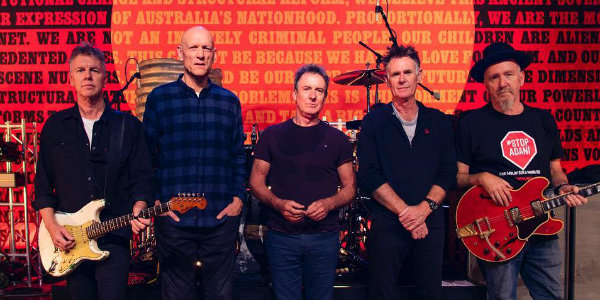 Listen: Midnight Oil returns with 'Gadigal Land' — first new song in 17 years