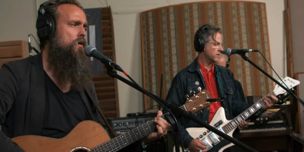 Watch: Calexico and Iron & Wine cover 'Bring on the Dancing Horses' for KEXP