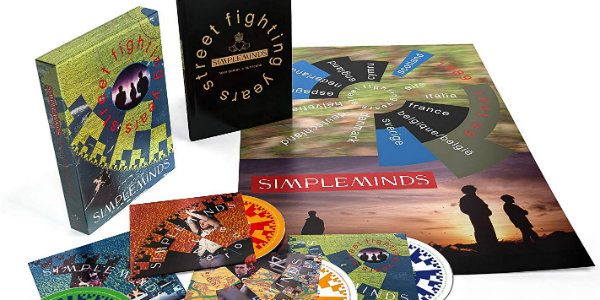 Simple Minds' 4-disc reissue of 'Street Fighting Years' to include unreleased live set