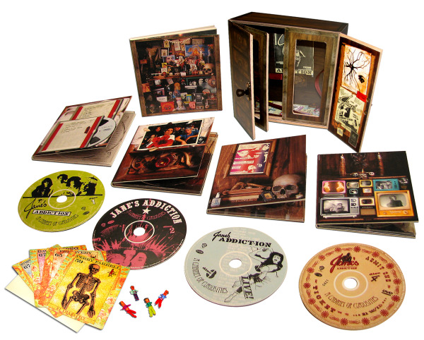 Jane's Addiction opens up its 'Cabinet of Curiosities' with new box set