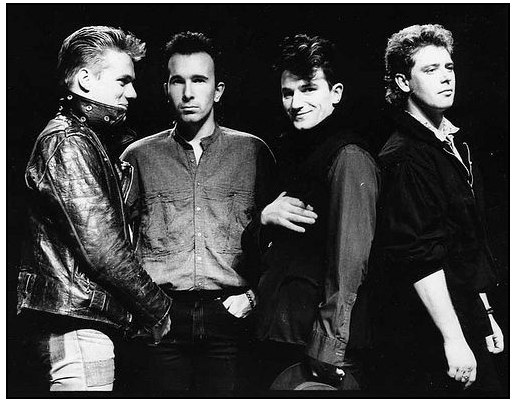 U2's Bono and The Edge play 'Unforgettable Fire' outtake 'Disappearing Act' on BBC