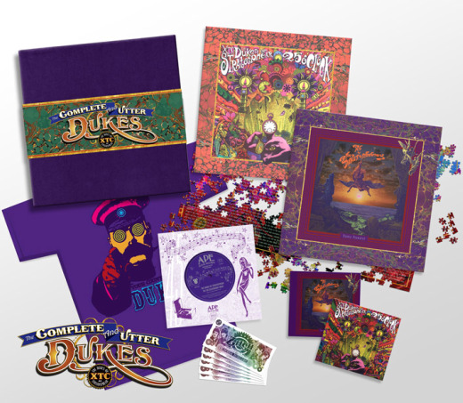 Dukes of Stratosphear's 'Complete and Utter Dukes' box set includes CDs, vinyl, puzzle