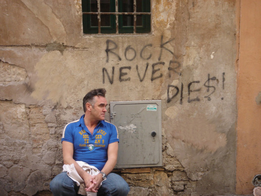 Morrissey calls last 3 albums his 'life's peaks,' apologizes for 'meek disaster' of 'Swords'