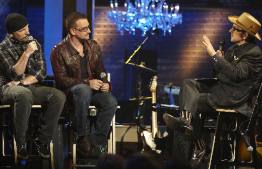 Contest: Win free 'Spectacle: Elvis Costello With…' Season 1 DVD prize pack, U2 single