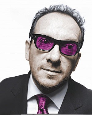 Video: Elvis Costello covers 'Purple Rain'