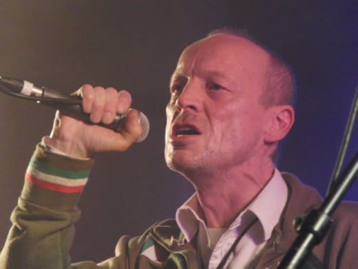 Larry Cassidy of Section 25, classic Factory Records postpunk act, 1953-2010