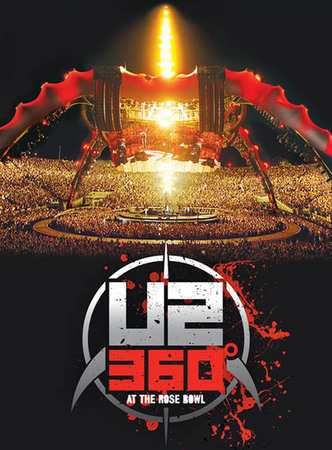 U2 to release 'U2360° at the Rose Bowl' concert on DVD, Blu-ray in June