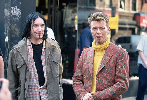 Vintage Video: David Bowie and Trent Reznor perform Nine Inch Nails' 'Hurt' in 1995