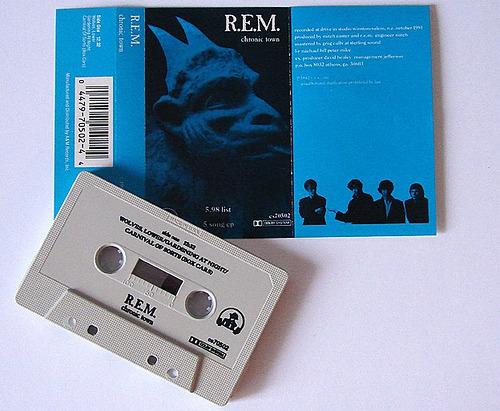 Milestones: R.E.M.'s 'Chronic Town' released 28 years ago today; hear rare studio outtakes