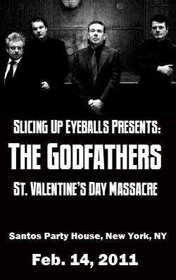 Contest: Win tickets to The Godfathers' St. Valentine's Day Massacre in NYC