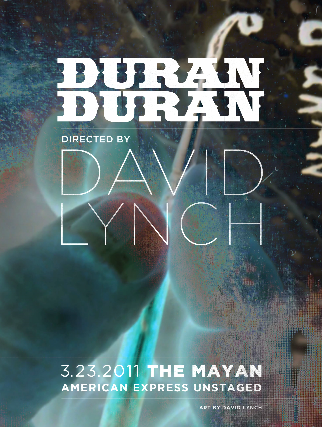 Video: Duran Duran, 'Notorious' and 3 more from David Lynch-directed 'Unstaged' concert