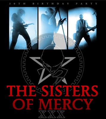 The Sisters of Mercy continue 30th anniversary tour with concerts in Europe, Japan