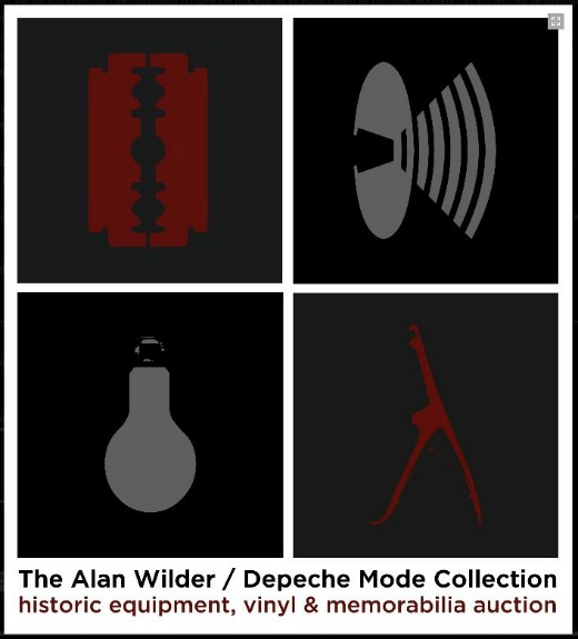 Alan Wilder auctioning off Depeche Mode records, equipment, pants from 1982-1995