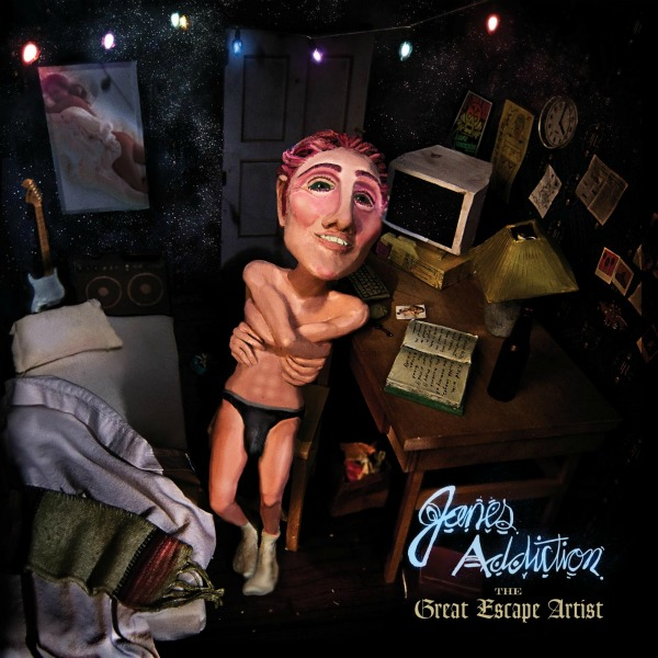 Cover art: Jane's Addiction, 'The Great Escape Artist' — due out Oct. 18