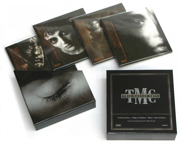 This Mortal Coil box set due in November, 'Tears in the Dropbox' Blu-ray in the works