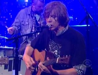Video: Thurston Moore plays 'Benediction' on 'The Late Show with David Letterman'