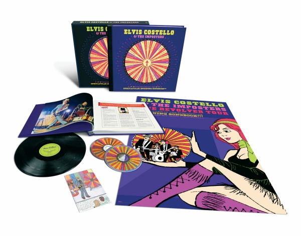 Elvis Costello to release 'Return of the Spectacular Spinning Songbook' live box set