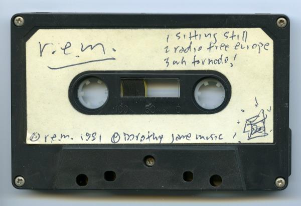 Stream: R.E.M. 'Radio Free Europe' original Mitch Easter mix from 'Cassette Set' demo