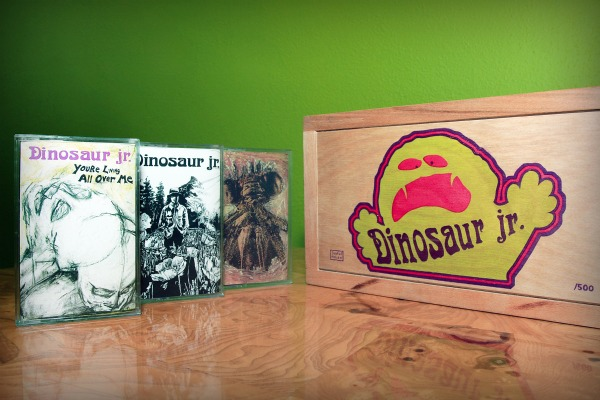 Dinosaur Jr to reissue 1st three albums in cassette box set — plus bonus Sebadoh tape