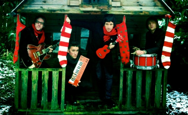 Free MP3: Johnny Marr & The Healers, 'Free Christmas' — brand-new holiday instrumental
