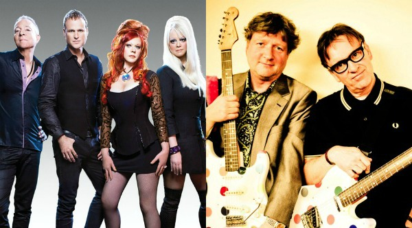The B-52s' tour with Squeeze starting to take shape with concerts set for June, July