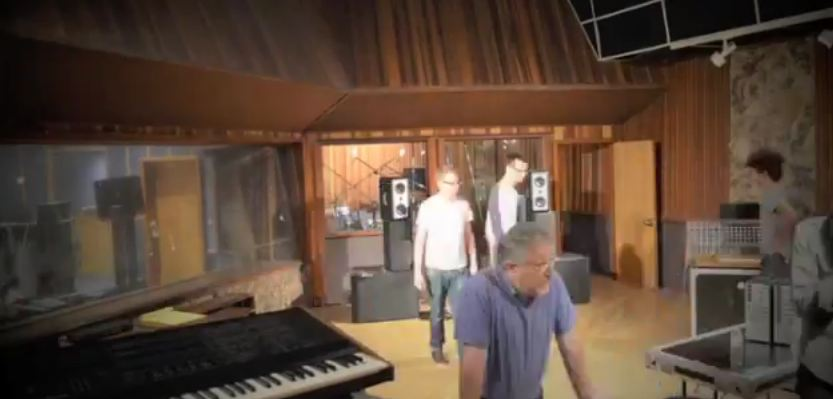 Video: Depeche Mode releases time-lapse clip of recording studio being set up