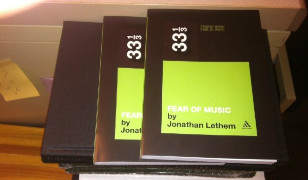 Read the first 23 pages of Jonathan Lethem's 33⅓ book on Talking Heads' 'Fear of Music'