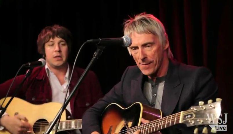 Video: Paul Weller strips down 'Sonik Kicks' with acoustic set at Wall Street Journal
