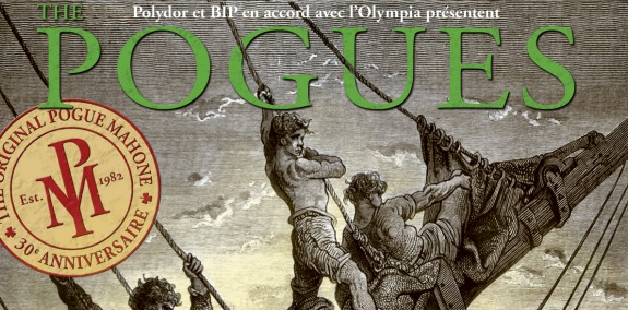 The Pogues to record 30th anniversary shows in Paris this September for live CD, DVD