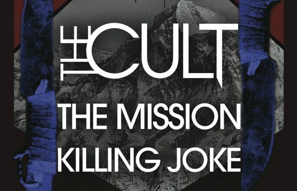 The Cult, The Mission, Killing Joke U.K. arena tour downsized for 'more intimate experience'