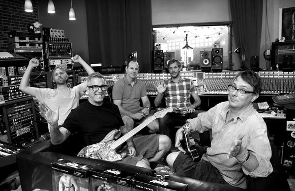 Photo: Bad Religion enters Los Angeles studio to begin work on 16th album