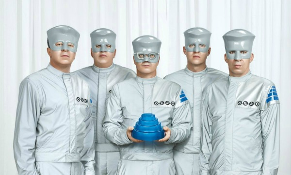 Stream: Devo, 'Don't Roof Rack Me, Bro! (Seamus Unleashed)' — song about Mitt Romney's dog