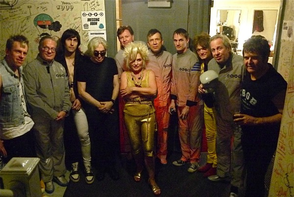 Photo: Blondie and Devo backstage in Chicago on final date of joint U.S. tour