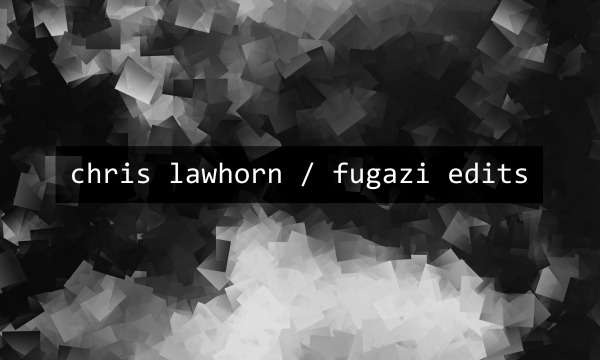 Chris Lawhorn releasing 'Fugazi Edits' LP that samples every song in band's discography
