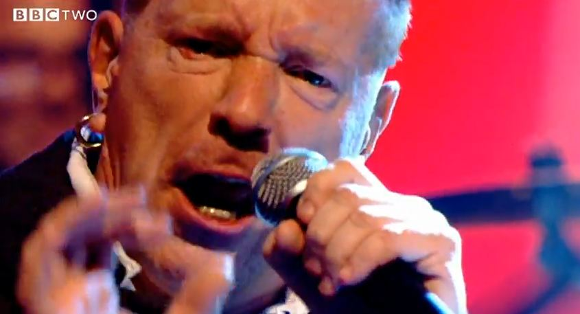 Video: Public Image Ltd. performs 'Reggie Song' on 'Later… with Jools Holland'