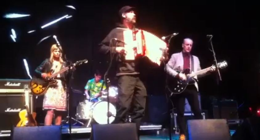 Video: Krist Novoselic joins The Vaselines to play 'Jesus Wants Me for a Sunbeam'