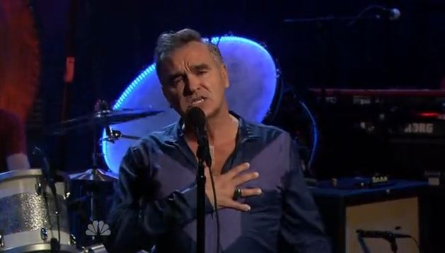 Video: Morrissey covers Frankie Valli, plays 'You Have Killed Me' on Jimmy Fallon