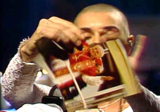 Milestones: Sinead O'Connor tore up pope's photo on 'SNL' 20 years ago tonight