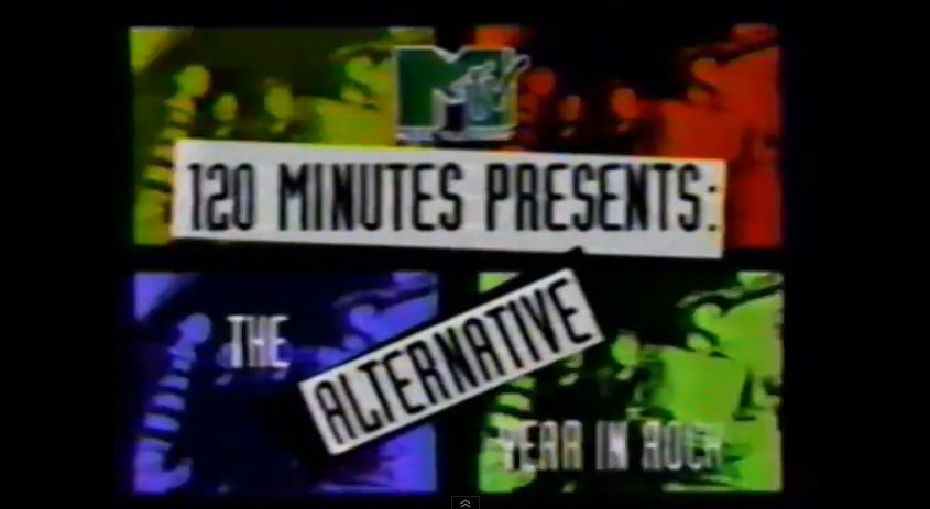 '120 Minutes' Rewind: 'The Alternative Year in Rock' with Dave Kendall — Nov. 24, 1992