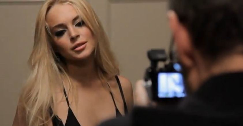 R.E.M. releases James Franco-directed video for 'Blue,' featuring Lindsay Lohan