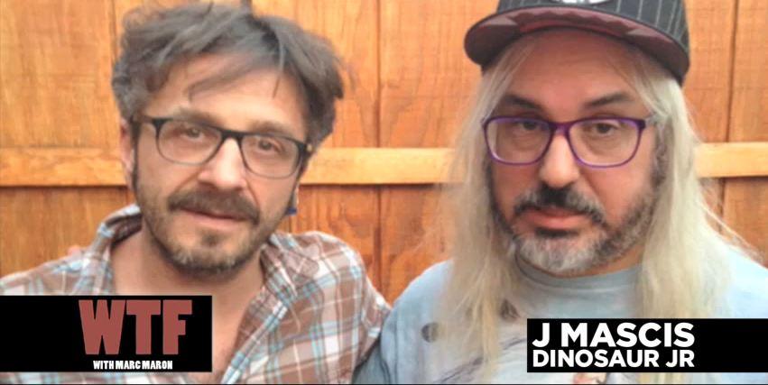 Download: Dinosaur Jr's J Mascis talks, plays music on Marc Maron's 'WTF' podcast