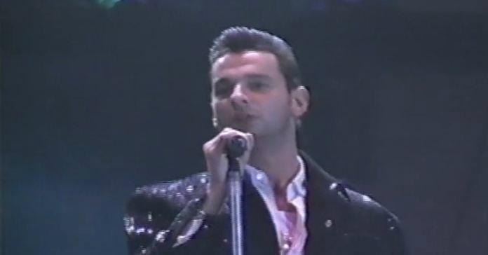 Video: Depeche Mode shares rare footage of 1990 'Violator' show at Dodger Stadium