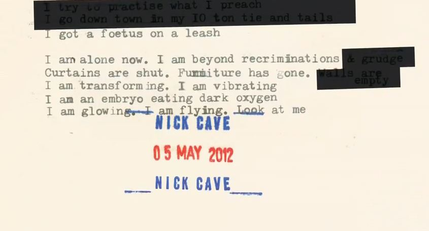 Stream: Nick Cave & The Bad Seeds, 'Jubilee Street' — 2nd track off 'Push the Sky Away'