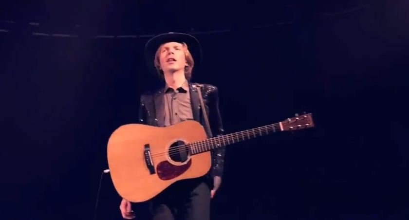 Video: Beck performs David Bowie's 'Sound and Vision' with 160-piece orchestra