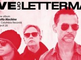 Depeche Mode to debut 'Delta Machine' with 'Letterman' concert, Times Square broadcast