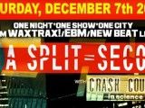 A Split-Second to play first U.S. show in 25 years this December in New York City