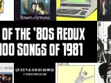 Top 100 Songs of 1981: Slicing Up Eyeballs' Best of the '80s Redux — Part 2
